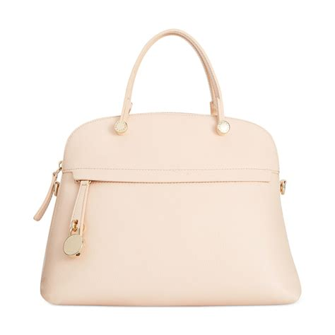 Furla Piper Dome Medium furla piper medium dome tote in pink lyst