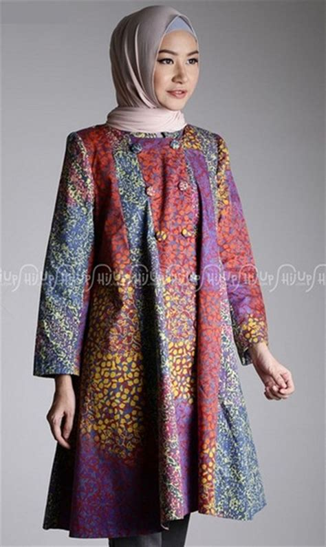 Fashion Modern Diana Dress Modis Terbaru Murah baju muslim batik model tunik modern muslim modis foto 2017