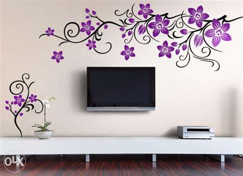 bedroom wall stencils design photos and