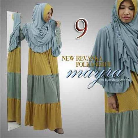 Faiqah Syari Mocca Gamis Muslim Gamis Nyaman Berkualitas new revanka by mayra 9 baju muslim gamis modern