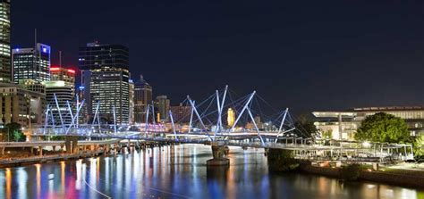 kurilpa bridge kurilpa bridge brisbane australia e architect