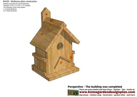 How To Build Bird Houses Joy Studio Design Gallery Best Bird House Plans