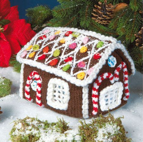 knitting pattern gingerbread house knitted gingerbread house knitting pattern in swedish