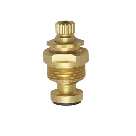 commercial stem assembly for central brass faucets