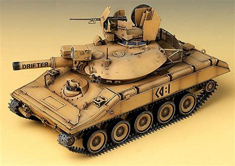 Sarung Army New Model 1 stylecolorful new m551 quot gulf war quot 1 35 academy model kit tank us army http
