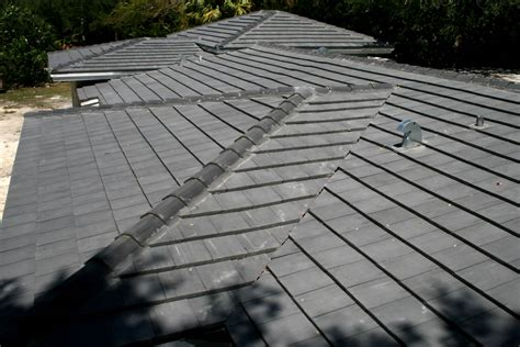 Flat Roof Tiles Charcoal Flat Cement Roof Tile Roof Repairs New Roofs In Miami