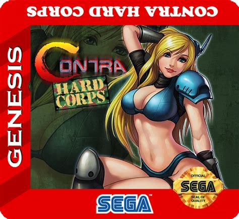 contra corps genesis custom label by nio107 on deviantart