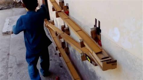 bikin layout track tamiya track hot wheels cardboard bahan kardus homemade youtube