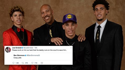 Liangelo Draft Nba Players React To The 2017 Draft