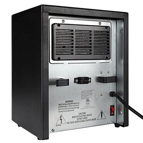 room heater reviews homegear 1500 sqft infrared electric portable space heater black remote space heaters