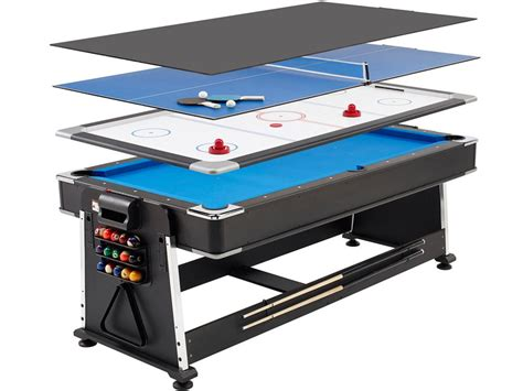air hockey table amazon mightymast revolver 3 in 1 pool air hockey table tennis