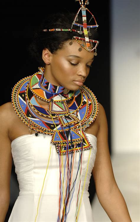 nubian hair in kenya woman wearing masai beaded jewelry under the african