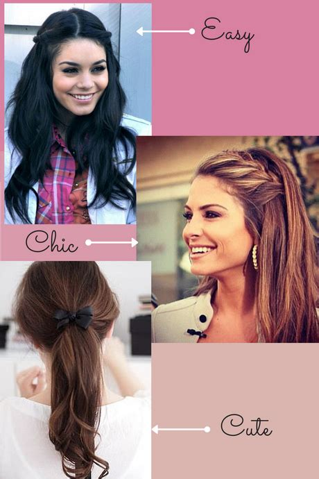Hairstyles For School Easy And Fast by Hairstyles And Easy For School
