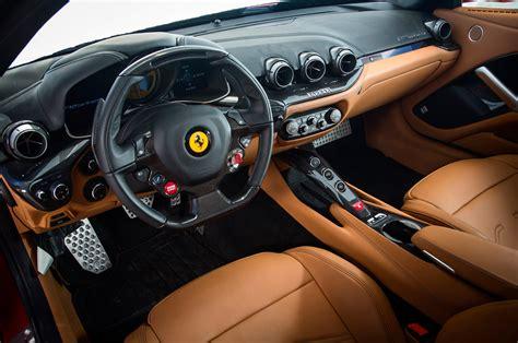 Motor Home Interiors by 2014 Ferrari F12 Berlinetta Exclusive First Test Photo