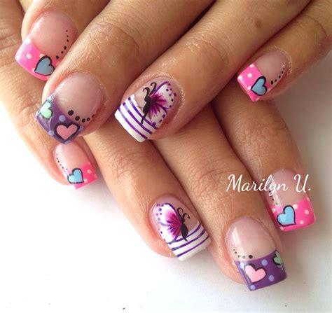 imagenes de uñas pintadas sencillas y bonitas mariposa anerol pinterest mariposas dise 241 os de u 241 as