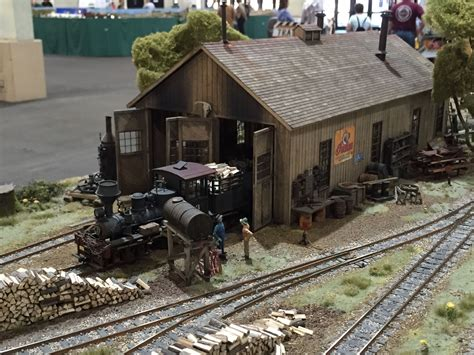 engine house pudding river lumber company engine house on30 modular layout by kevin spady model