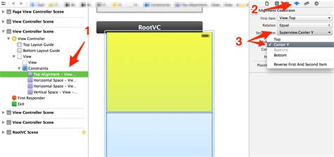 autolayout height constraint autolayout make height of view relative to half