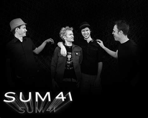 Best Band Sum 41 1440x900 Sum 41 Wallpapers High Quality Free