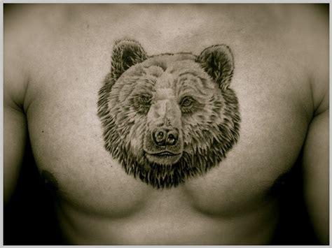 awesome bear tattoos