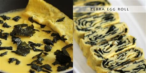Wajan Zebra resep dadar gulung zebra ala korea vemale