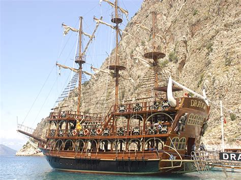 pirate boat pirate boat tour from oludeniz ovacik calis and fethiye