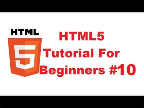 html tutorial ordered list html5 tutorial for beginners 10 html lists ordered