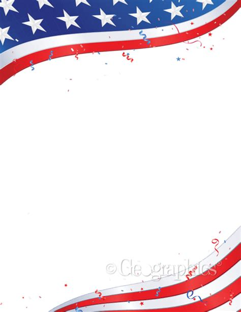 printable flag stationery 7 best images of free printable patriotic stationary