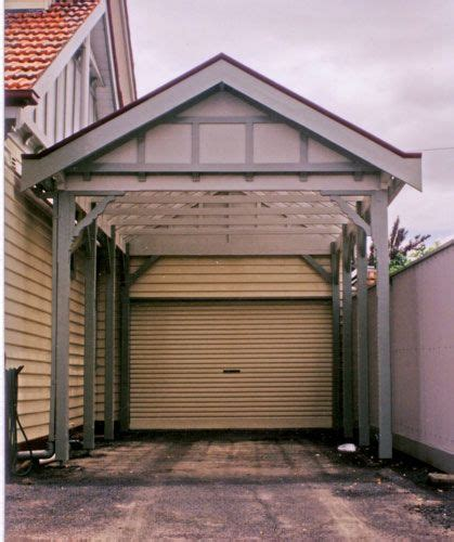 federation  edwardian fence   garage garage doors garage organisation
