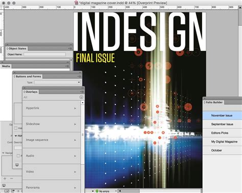 indesign digital magazine templates is indesign now becoming redundant for digital magazine