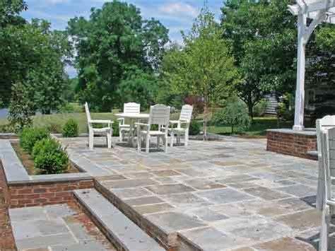 two level bluestone patio costs