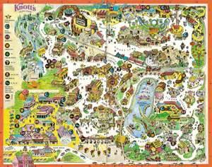 knott s berry farm 1996 park map
