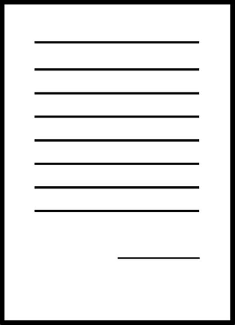 paper document file blank letter sheet contract