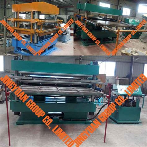 rubber st maker machine automatic vulcanizing machine press used tire recycling