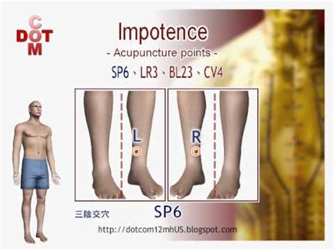 impotence diy acupuncture points 12mh