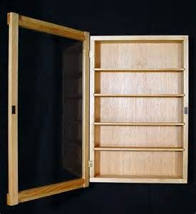 Curio Cabinet For Wall Wall Curio Cabinet Display Shadow Box