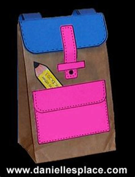 Paper Lunch Bag Crafts - 25 best ideas about lunch bags on