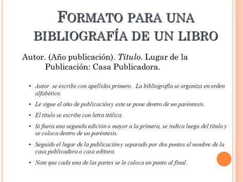 libro trabalenguas para que se 191 qu 233 es una bibliograf 237 a ppt descargar