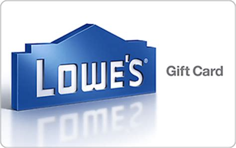 Does Lowes Sell Visa Gift Cards - lowe s egift card giftcardmall com