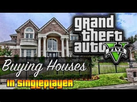 how buy house gta 5 how to buy houses in singleplayer gta 5 easter egg glitch tutorial parody