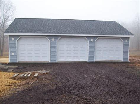 Wonderful How Wide Is A 2 Car Garage #1: 26x36-3-car-garage-3.jpg