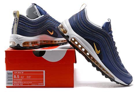 Nike Air Max 97 Undefeated White Sepatu Jalan Pria Sneakers Premium undefeated x nike air max 97 og midnight navy metallic gold white for sale nike kd 10 sale