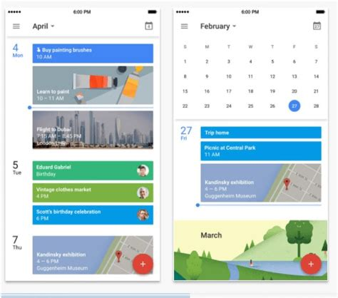 best calendar apps for iphone and 2018