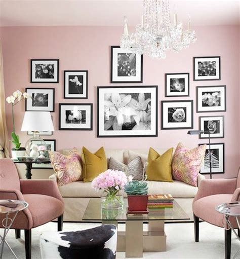 home inspiration decorating with blush pink the green