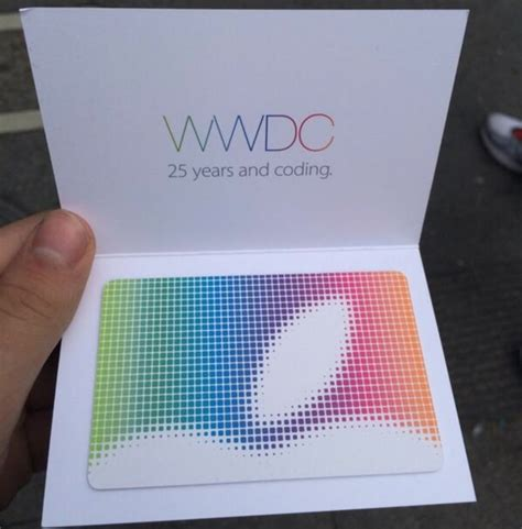 apple gift card apple giving 25 app store gift certificates to wwdc