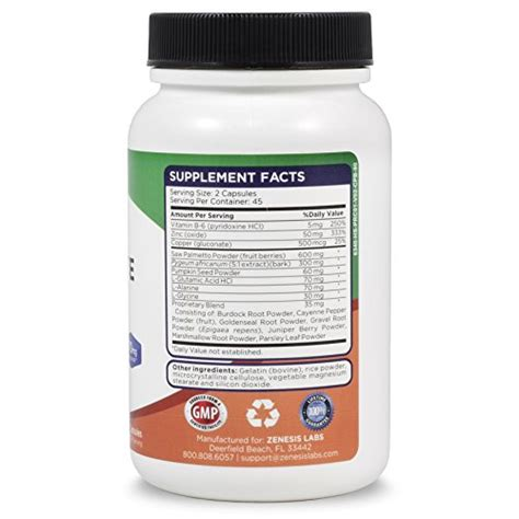supplement zinc and copper health supplement saw palmetto 90 capsules