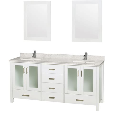 72 Bathroom Vanity Wyndham Collection Wcvms1572dwhcmunsm24 72 Inch