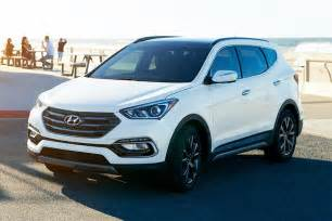 Hyundai Santa Fe Sport Mpg 2017 Hyundai Santa Fe Sport Suv Pricing For Sale Edmunds