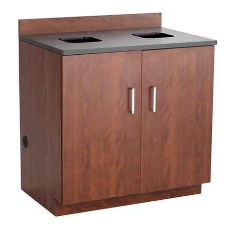 Cabinet Receptacle by Hospitality Base Cabinet Waste Receptacle Safco Products
