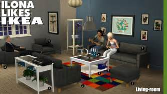Ikea Karlstad Chair Around The Sims 3 Custom Content Downloads Objects