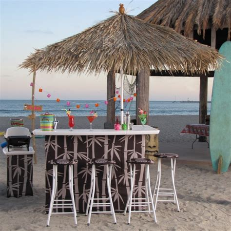 backyard tiki bar sets blogs perfect for tailgating cing in the backyard